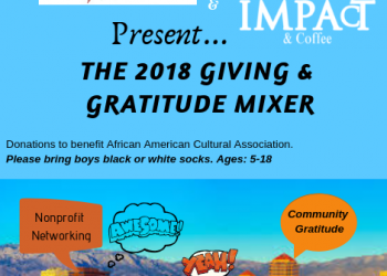 Giving & Gratitude Mixer 2018