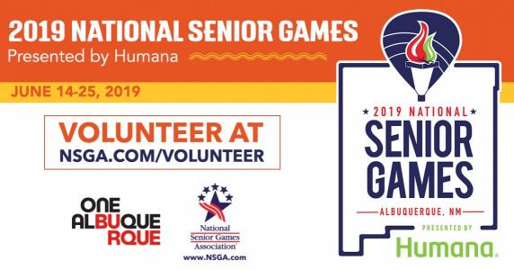Volunteer for the National Senior Games