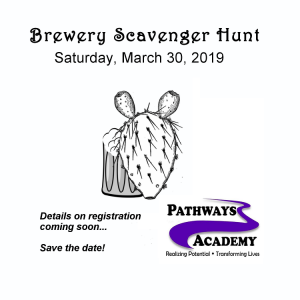 Brewery Scavenger Hunt, March 30, 2019, Pathways Academy, Albuquerque, NM