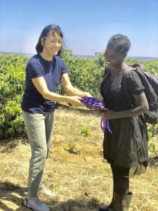 Providing reusable sanitary 'kit's to girls in Zambia